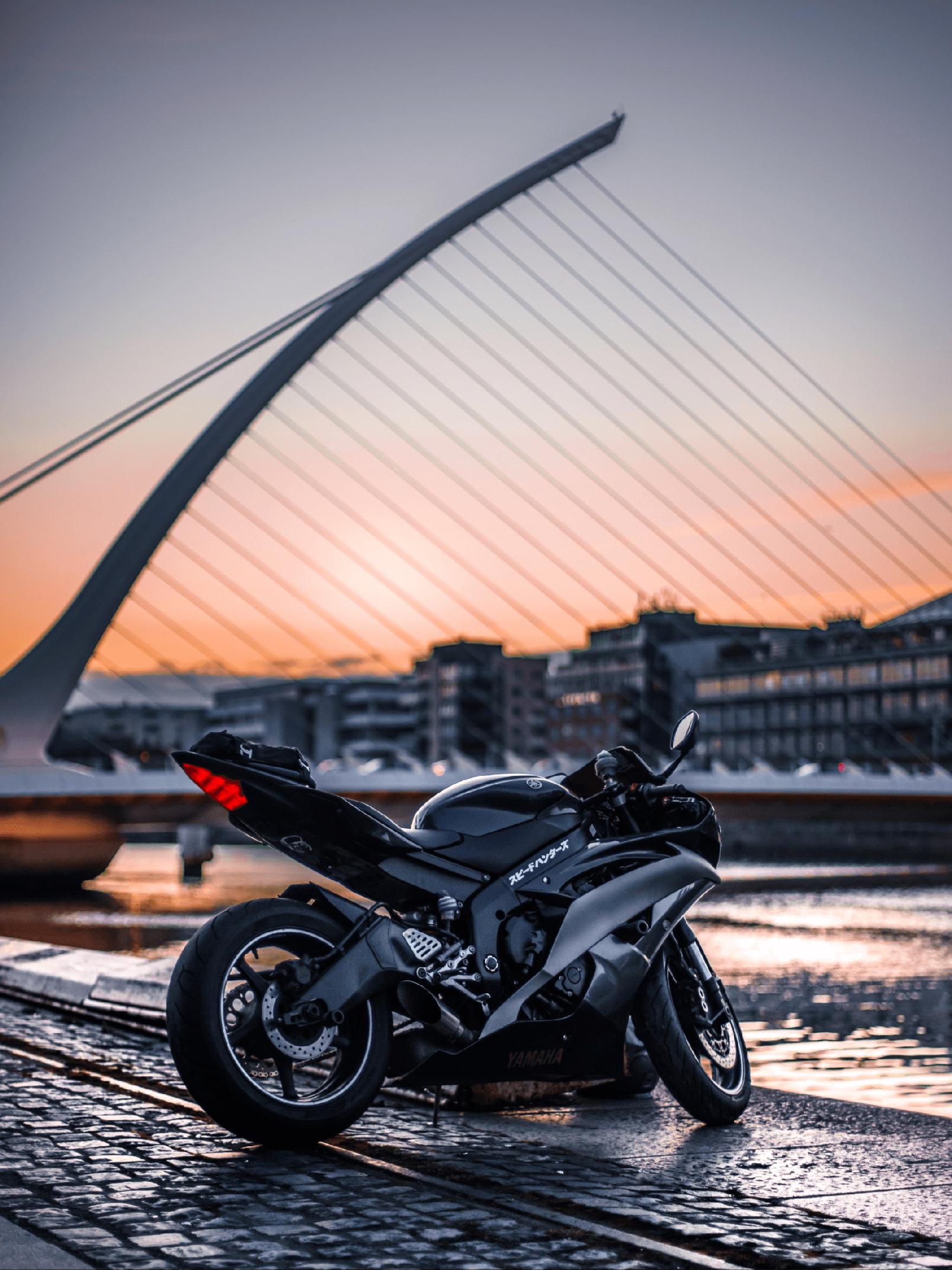 Få laget unike motorsykkelbilder fra Nordic photodesign