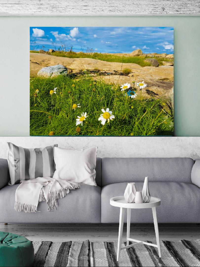 Få hjelp til å få sommerbildet på veggen- Nordic photodesign