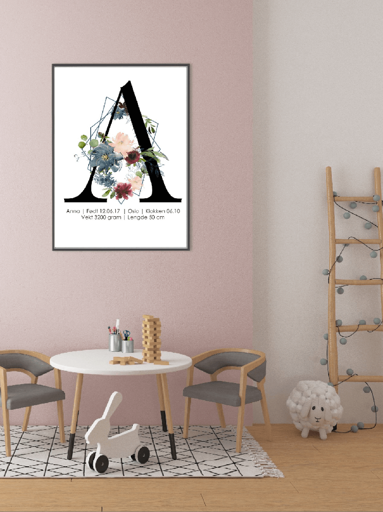 Få laget et unikt nyfødtbilde fra Nordic photodesign