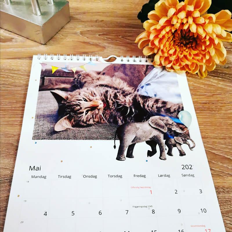 Fotokalender - vi lager den for deg