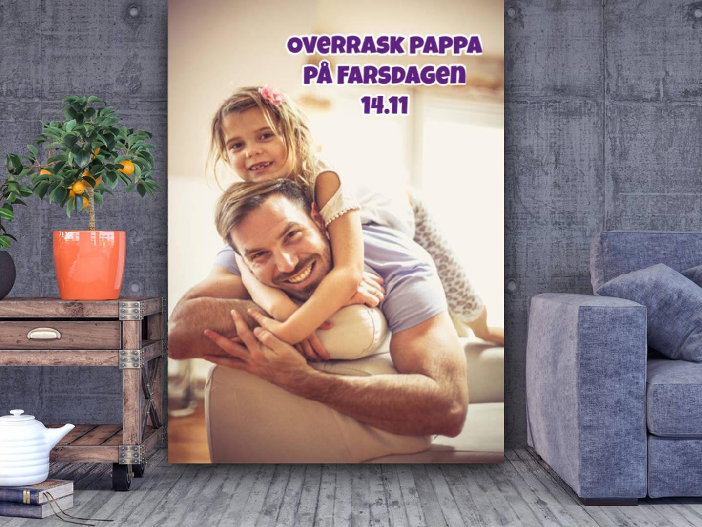 Få laget et veggbilde til Farsdagen-Npd